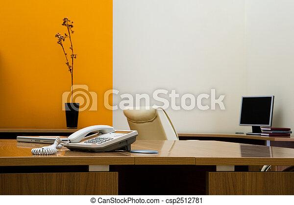 téléphone, bureau - csp2512781