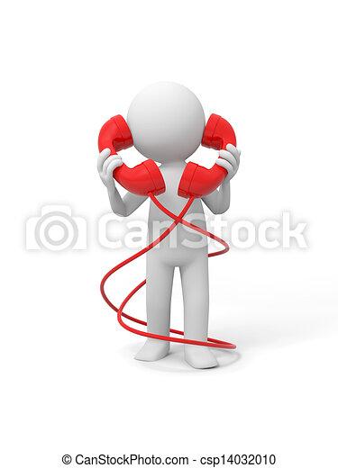 téléphone, contact - csp14032010