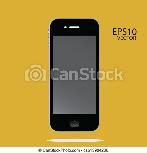 téléphone, intelligent - csp13984206