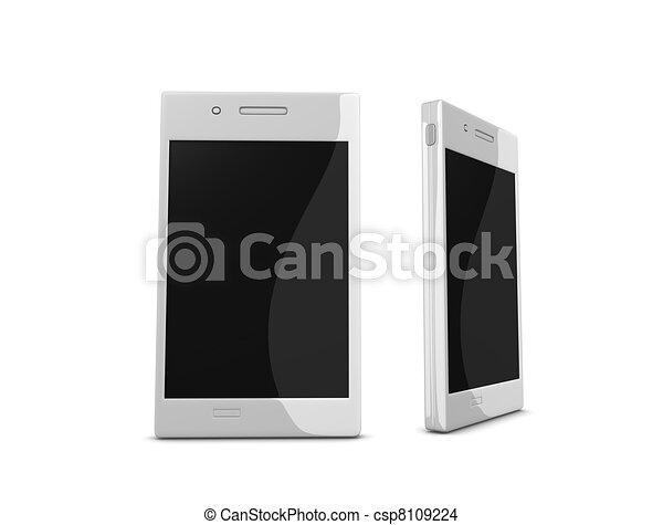 téléphone, intelligent - csp8109224
