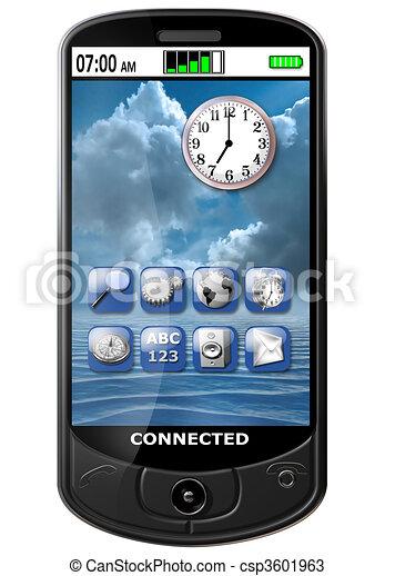 téléphone, intelligent - csp3601963