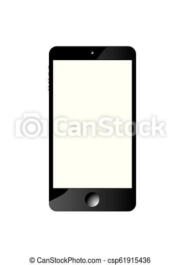 téléphone, intelligent, icône - csp61915436