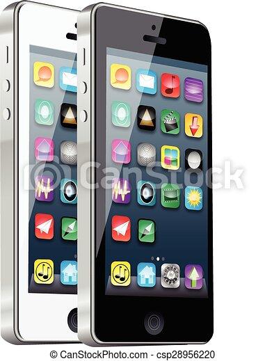 téléphone, intelligent - csp28956220