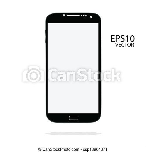 téléphone, intelligent - csp13984371