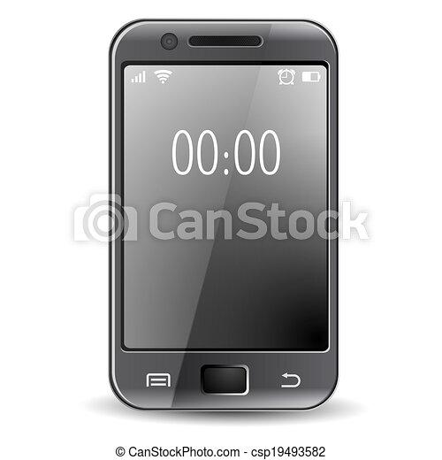 téléphone, intelligent - csp19493582