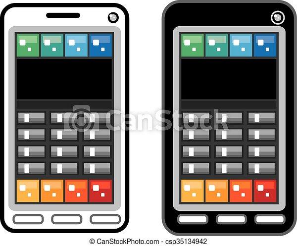 téléphone, intelligent - csp35134942