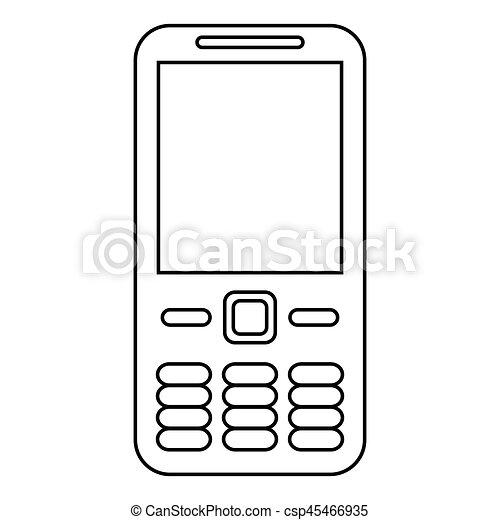 Téléphone Portable Ligne Technologie Appeler