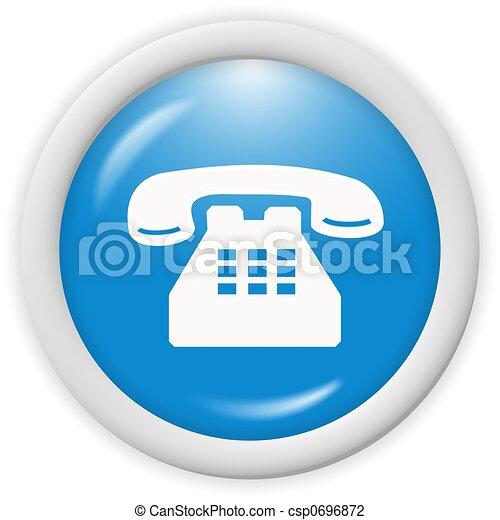 téléphonez icône - csp0696872
