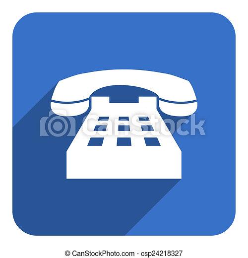 téléphonez icône - csp24218327
