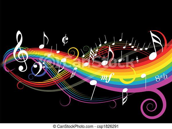 téma, zene - csp1826291