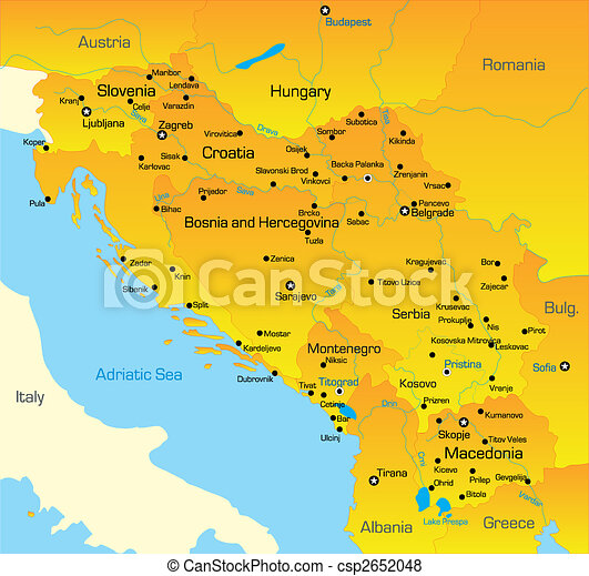 Terkep Balkan Befest Terkep Videk Balkan