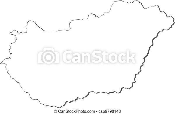 magyarország térkép rajz Ungarn Stock illusztrációk. 54 Ungarn illusztrációk kereshetőek  magyarország térkép rajz