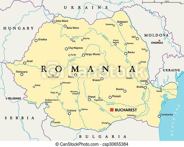 Terkep Romania Politikai Terkep Romania Scaling