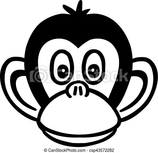 T te singe dessin anim - Dessin de singes ...