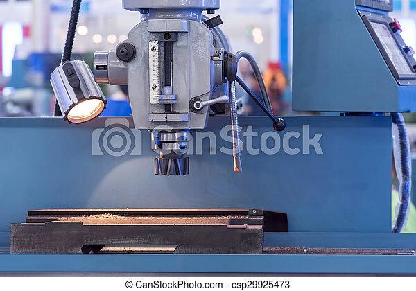 têtes, moudre, industrie, métal, machine, cnc - csp29925473