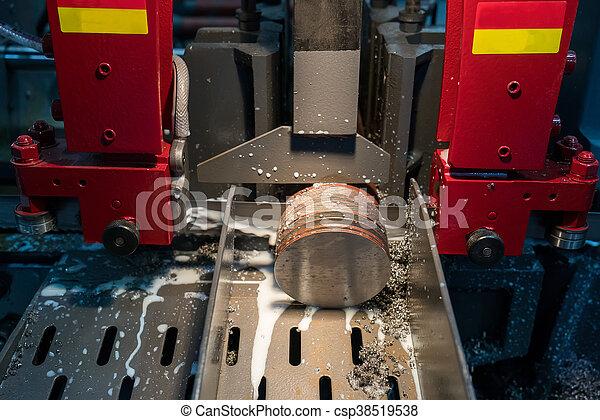 têtes, moudre, industrie, métal, machine, cnc - csp38519538