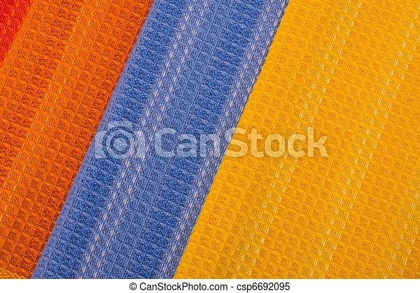 têxtil, fundo - csp6692095