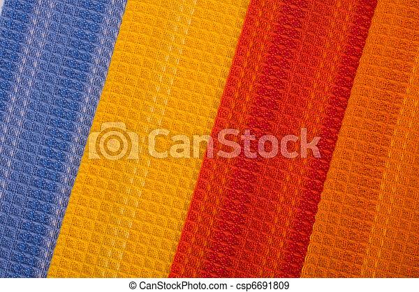 têxtil, fundo - csp6691809