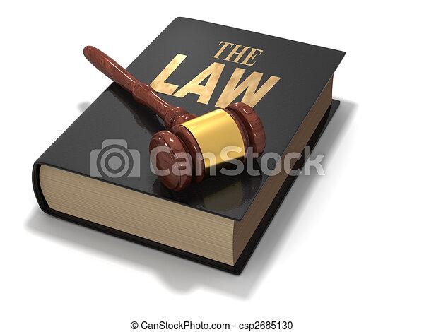 törvény - csp2685130