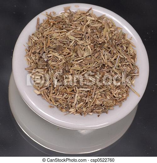 tørret timian
