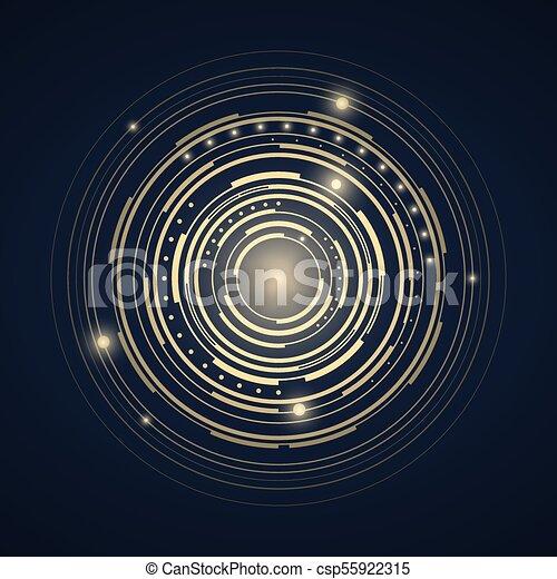 tło., abstrakcyjny, techniczny - csp55922315