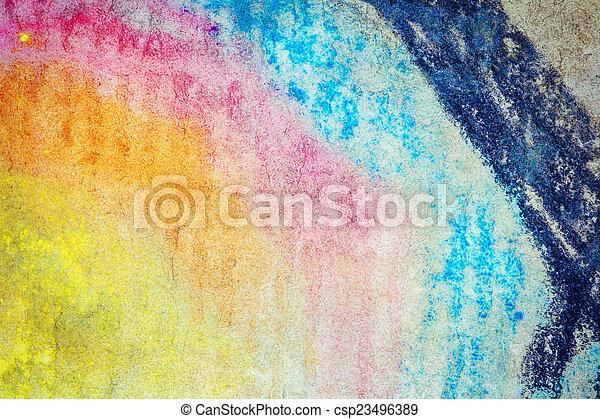 tło, sztuka, abstrakcyjny - csp23496389