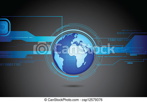 tło, techniczny - csp12579376