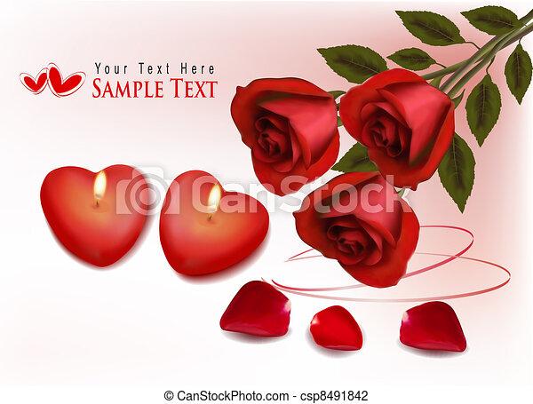tło., valentine`s dzień - csp8491842