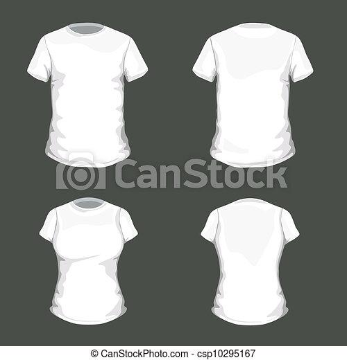 tシャツ, ベクトル, デザイン, テンプレート - csp10295167