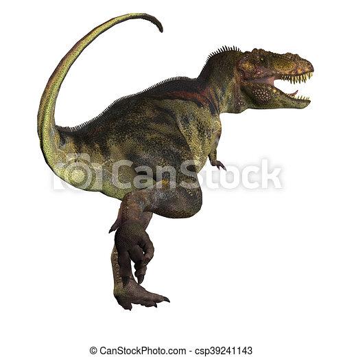 T-Rex Dinosaur Tail - csp39241143