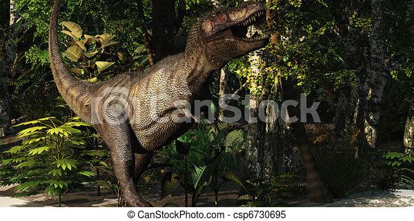 T-Rex Hunt - csp6730695