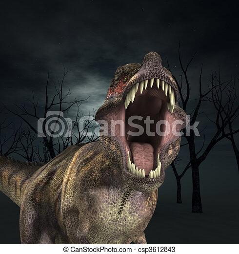 t rex roar a tyrannosaurus rex that is roaring fiercely