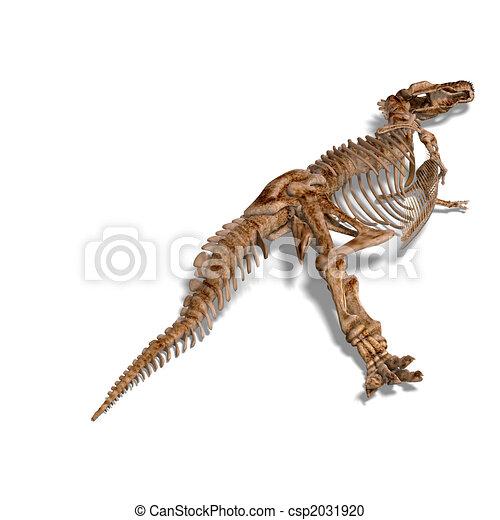 T-Rex Skeleton - csp2031920
