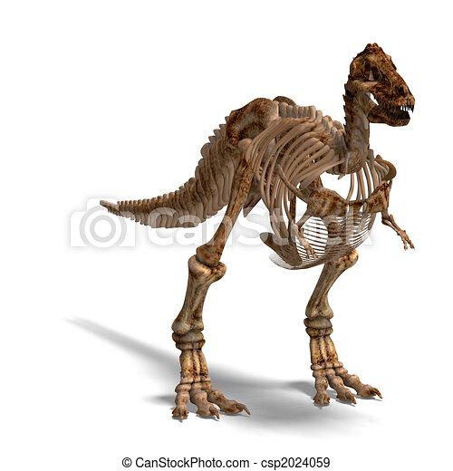 T-Rex Skeleton - csp2024059