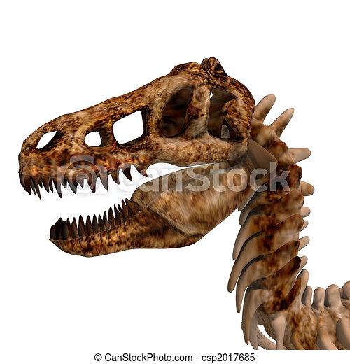 T-Rex Skeleton - csp2017685