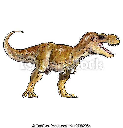 T-rex - csp24382084