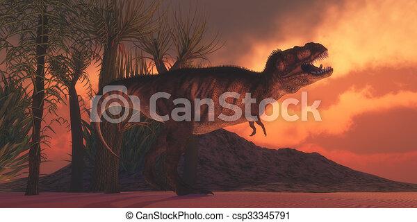 T-Rex Tyrant - csp33345791