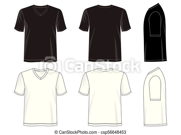T Shirt Design Line Art : T shirt 02.eps. design vector template collection clipart