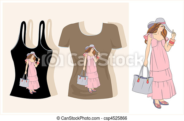 T Shirt Design Line Art : T shirt design clip art vector search drawings and graphics images