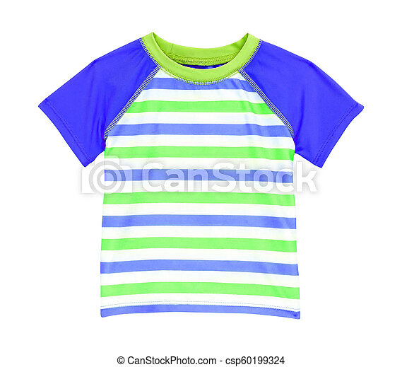 t-shirt isolated on a white - csp60199324
