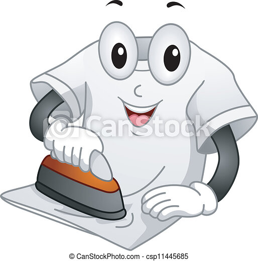 T-shirt Mascot - csp11445685