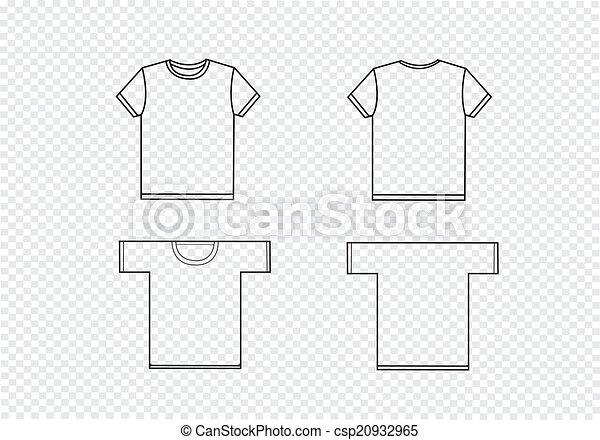 T-shirt, schablonen, design.