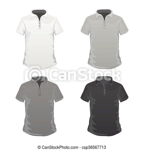 T-shirt, schablonen, vektor, abbildung.