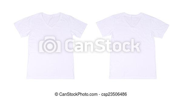 T Shirt Template Setfront Back