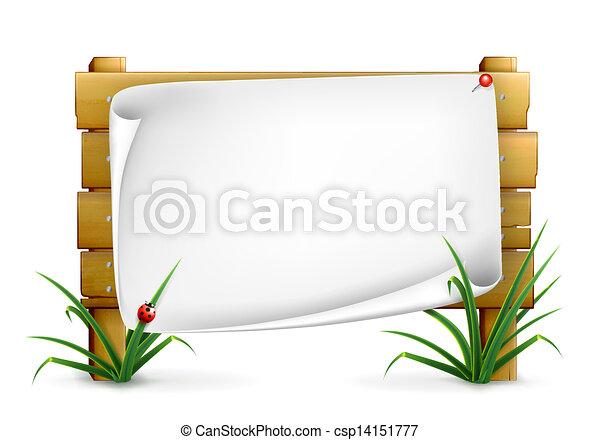 tabela de anúncios, 10eps - csp14151777