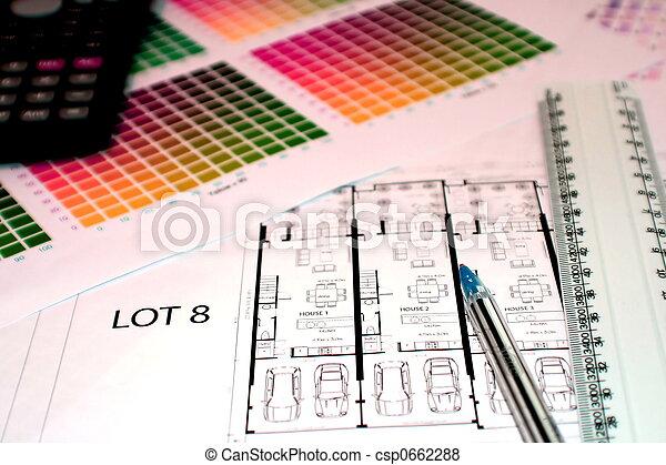 Tabelle, pläne. Sein, plans..., studied!, lineal, tabelle, buero ...