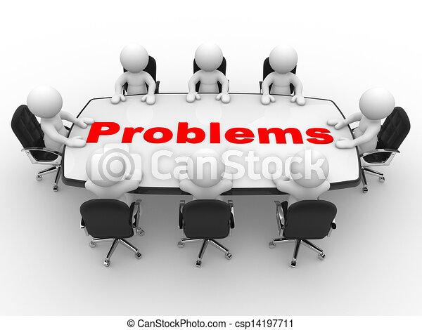 La mesa de conferencias - csp14197711