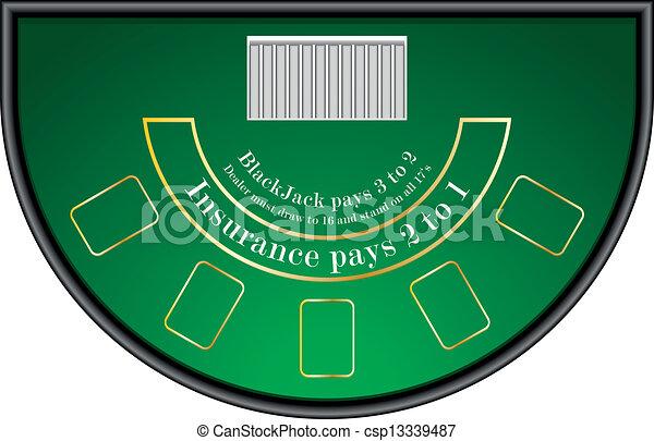 Una mesa negra - csp13339487