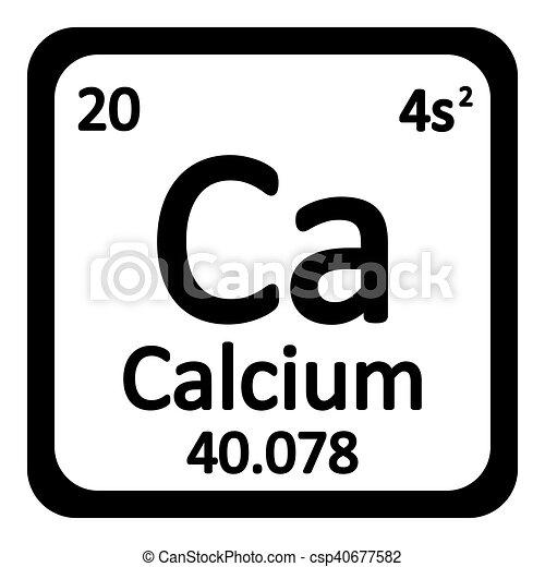 Tabla icon peridico elemento calcio vector vector tabla icon peridico elemento calcio vector urtaz Images