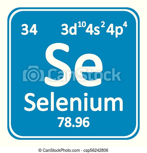 Tabla icon peridico selenio elemento vector illustration tabla icon peridico selenio elemento csp56242806 urtaz Choice Image